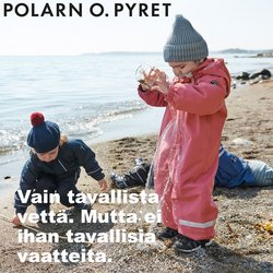 Tarjouksia yritykseltä Lelut ja Vauvat kaupungissa Polarn o. Pyret lehtisiä ( 29 päivää jäljellä)
