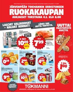 Supermarket tarjoukset Tokmanni kuvastossa Lempäälä ( Vanhenee tänään )
