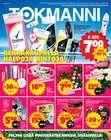 Supermarket tarjoukset Tokmanni kuvastossa Järvenpää ( Vanhenee tänään )