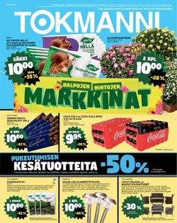 Tarjouksia yritykseltä Supermarket kaupungissa Tokmanni lehtisiä ( Julkaistu tänään)