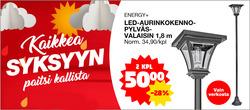Tarjouksia yritykseltä Tokmanni kaupungissa Lahti lehtisiä