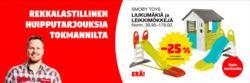 Tarjouksia yritykseltä Tokmanni kaupungissa Helsinki lehtisiä