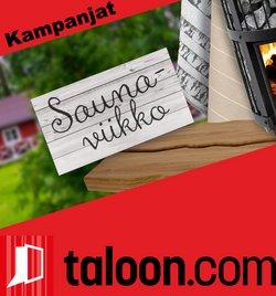 Tarjouksia yritykseltä Rautakauppa kaupungissa Taloon.com lehtisiä ( 6 päivää jäljellä)
