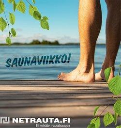 Tarjouksia yritykseltä Netrauta.fi kaupungissa Netrauta.fi lehtisiä ( 13 päivää jäljellä)