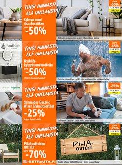 Tarjouksia yritykseltä Netrauta.fi kaupungissa Netrauta.fi lehtisiä ( 15 päivää jäljellä)