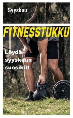 Fitnesstukku luettelo, ( 11 päivää jäljellä)