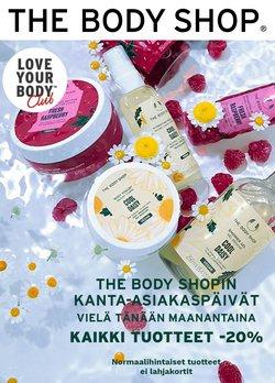 Tarjouksia yritykseltä The Body Shop kaupungissa The Body Shop lehtisiä ( Vanhentunut)
