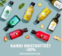 Tarjouksia yritykseltä The Body Shop kaupungissa Turku lehtisiä
