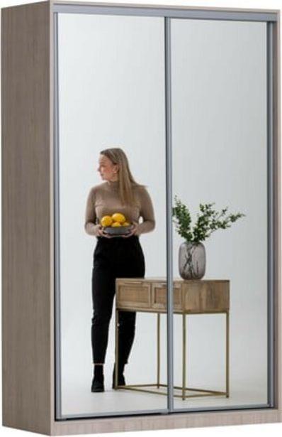 Doorit liukuovikomero 150x45cm, tammi runko, peiliovet -tarjous hintaan 670€