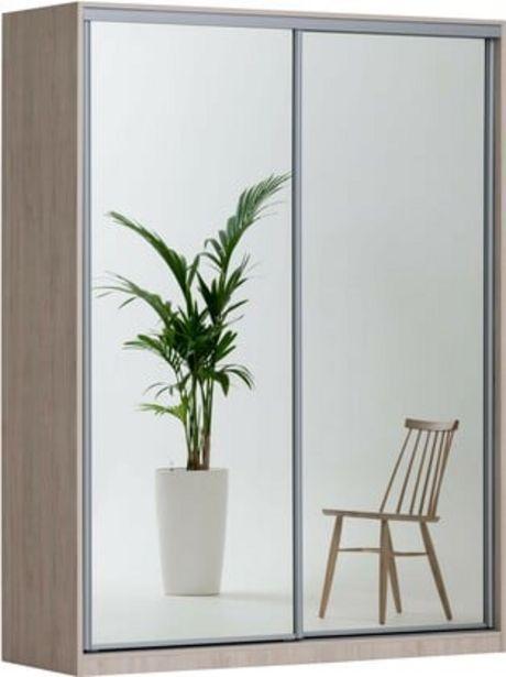 Doorit liukuovikomero 180x62cm, tammi runko, peiliovet -tarjous hintaan 799€