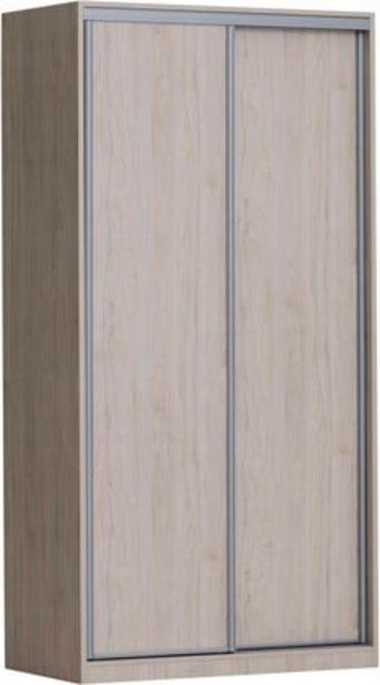 Doorit liukuovikomero 120x62cm, tammi runko, levyovet tammi -tarjous hintaan 579€
