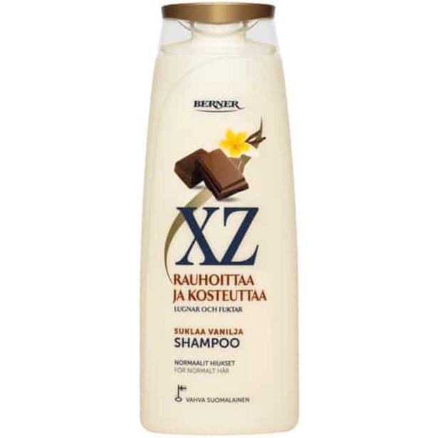Xz Suklaa-vanilja Shampoo 500ml| Säästötalo Latvala -tarjous hintaan 4,75€