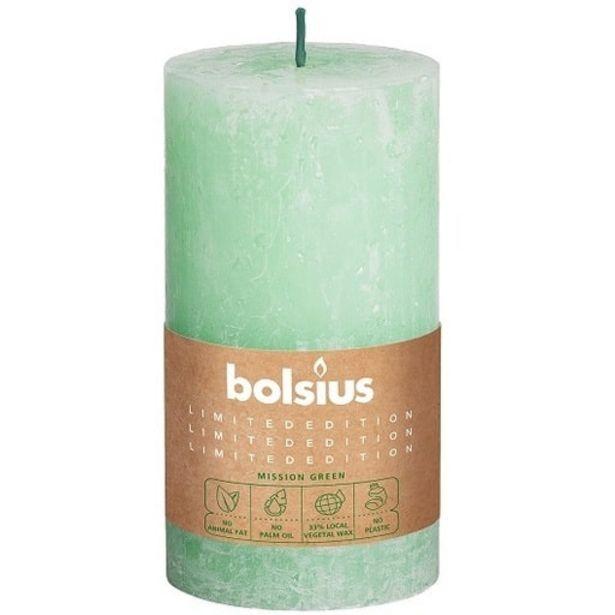 Bolsius KynttilÄ VaaleanvihreÄ 13cm| Säästötalo Latvala -tarjous hintaan 4,95€