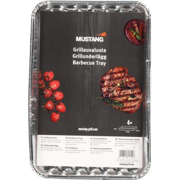 Mustang Grillausalusta 4kpl| Säästötalo Latvala -tarjous hintaan 1,79€