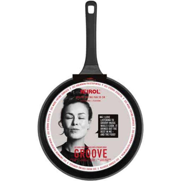 Heirol Groove Paistinpannu 28cm| Säästötalo Latvala -tarjous hintaan 39,95€