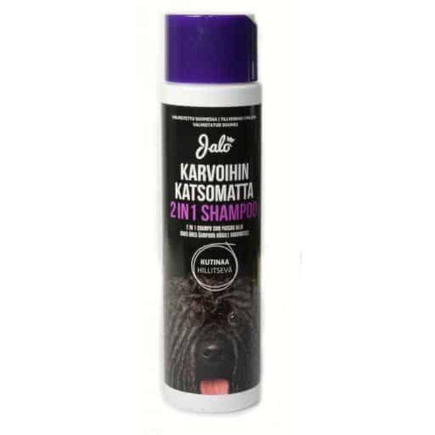 Jalo Karvoihin Katsomatta 2in1 Shampoo 250ml| Säästötalo Latvala -tarjous hintaan 9,95€