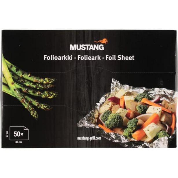Mustang Extra Vahvat Folioarkit 50kpl| Säästötalo Latvala -tarjous hintaan 3,99€