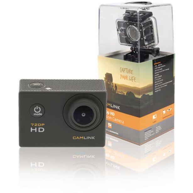 Camlink Hd Action Kamera 720p Toimii MyÖs Webkamerana Musta| Säästötalo Latvala -tarjous hintaan 24,95€