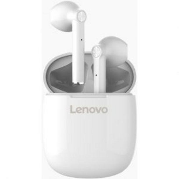 Lenovo Ht30 True Wireless Langattomat Kuulokkeet Valkoinen| Säästötalo Latvala -tarjous hintaan 49,95€