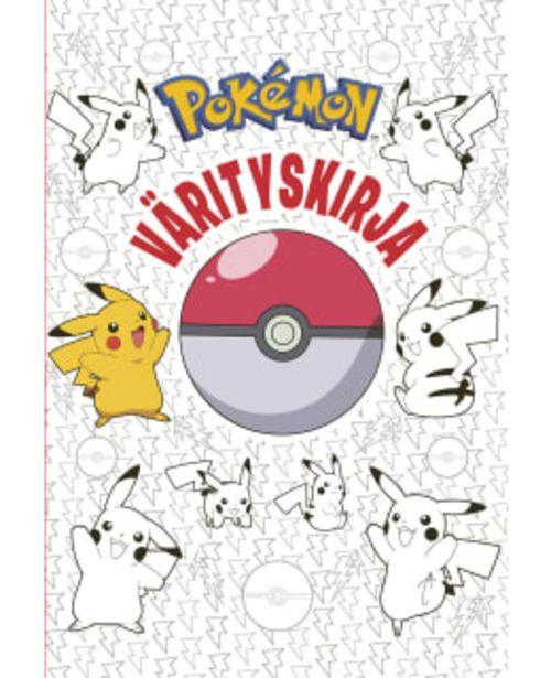 Pokémon Värityskirja -tarjous hintaan 4,9€