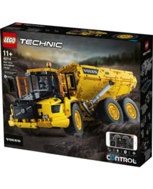 Lego Technic Control+ 42114 Nivelkaivoskuorma-auto Volvo A60h 6x6 Dumper -tarjous hintaan 193,9€