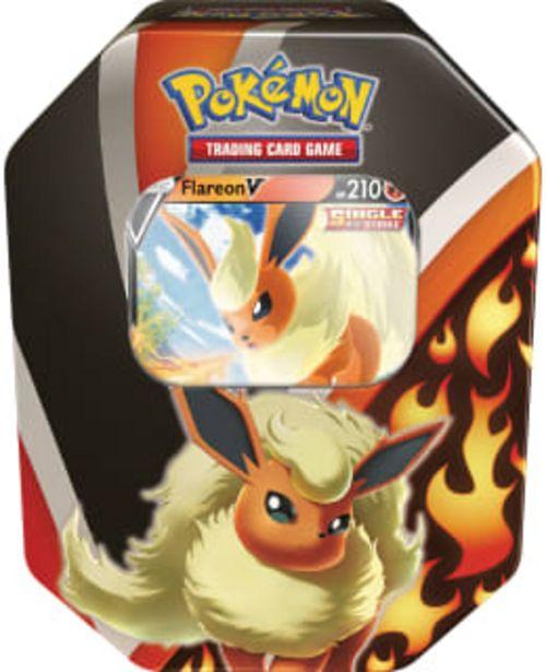 Pokemon V Tin -rasia Flareon/jolteon/vaporeon -tarjous hintaan 33,5€
