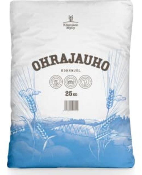 Kinnusen Mylly 25kg Ohrajauho -tarjous hintaan 22,9€