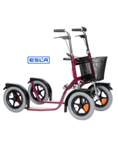 Esla Citymax 3800 Punainen Potkupyörä -tarjous hintaan 469€