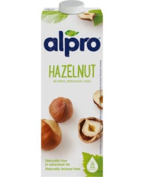 Alpro Original 1l Hasselpähkinäjuoma -tarjous hintaan 2,45€