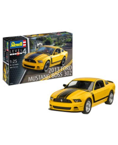 Revell 2013 Ford Mustang Boss 302 1:25 Pienoismalli -tarjous hintaan 29,9€