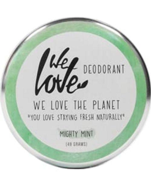 We Love The Planet Mighty Mint 48 G Deodorantti -tarjous hintaan 14,9€