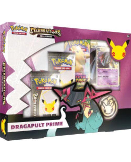 Pokemon Celebrations Collection Dragapult Prime -tarjous hintaan 30€