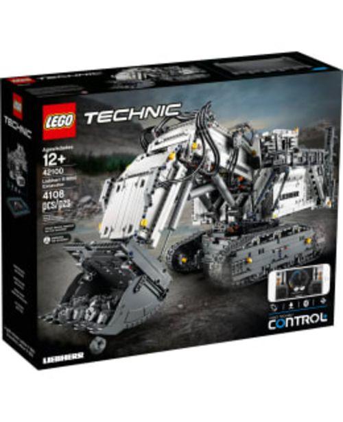 Lego Technic Control+ 42100 Liebherr R 9800 Kauko-ohjattava Kaivinkone -tarjous hintaan 319,9€