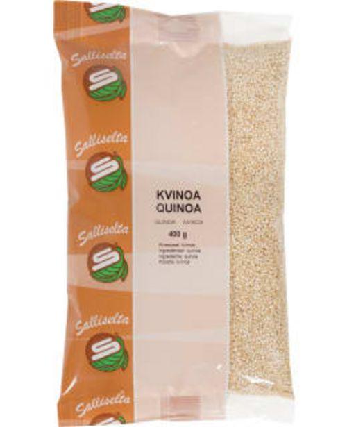 Sallinen 400 G Kvinoa -tarjous hintaan 2,79€