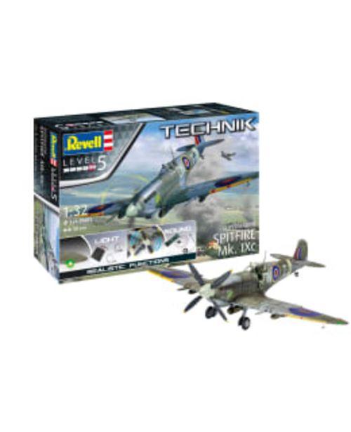 Revell Technik Supermarine Spitfire Mk.ixc 1:32 Pienoismalli -tarjous hintaan 189€