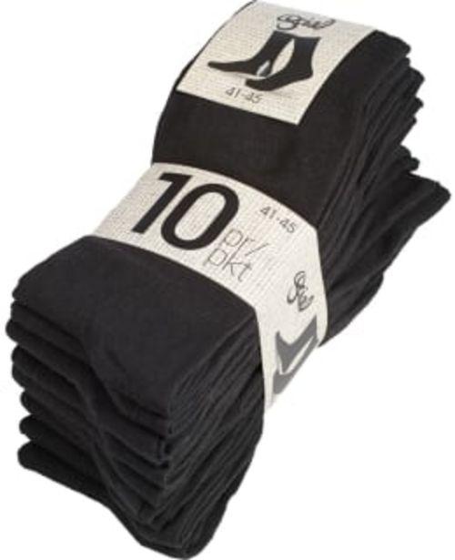 Social Underwear 10-pack Miesten Sukat -tarjous hintaan 9,9€