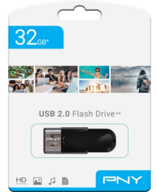 Pny 2.0 32gb Muistitikku -tarjous hintaan 9,9€