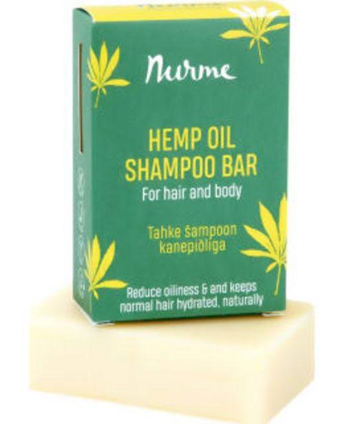 Nurme Hemp Oil Shampoo Bar 100 G Hamppuöljyshampoopala -tarjous hintaan 8,9€