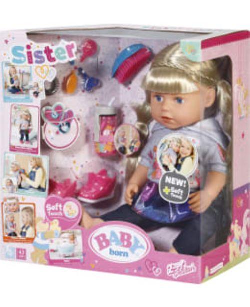 Baby Born Soft Touch Sister Blond 43cm Kylvetettävä Nukke -tarjous hintaan 49,9€