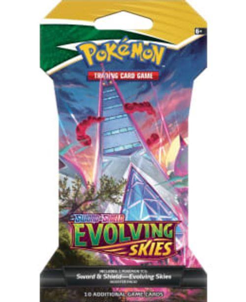 Pokemon Sword & Shield Evolving Skies -keräilykortit -tarjous hintaan 6,75€