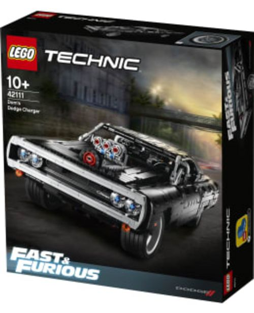 Lego Technic 42111 Dom's Dodge Charger -tarjous hintaan 89,9€