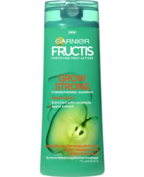 Garnier Fructis Grow Strong 250 Ml Shampoo -tarjous hintaan 2,7€