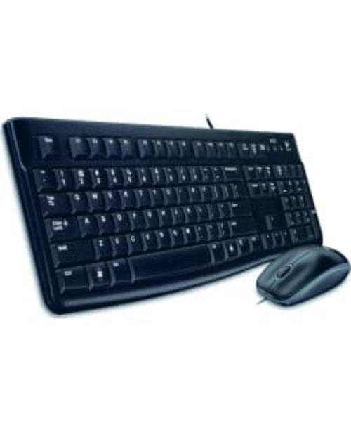Logitech Mk120 Näppäimistö Ja Hiiri -tarjous hintaan 24,9€