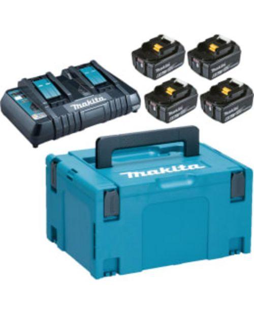 Makita Lxt 198091-4 18v 4x6ah Tuplalaturi Powerpack -tarjous hintaan 449€