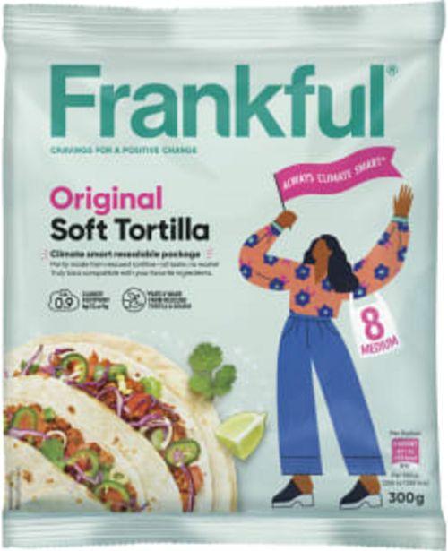 Frankful 300g Soft Tortilla Original -tarjous hintaan 0,5€