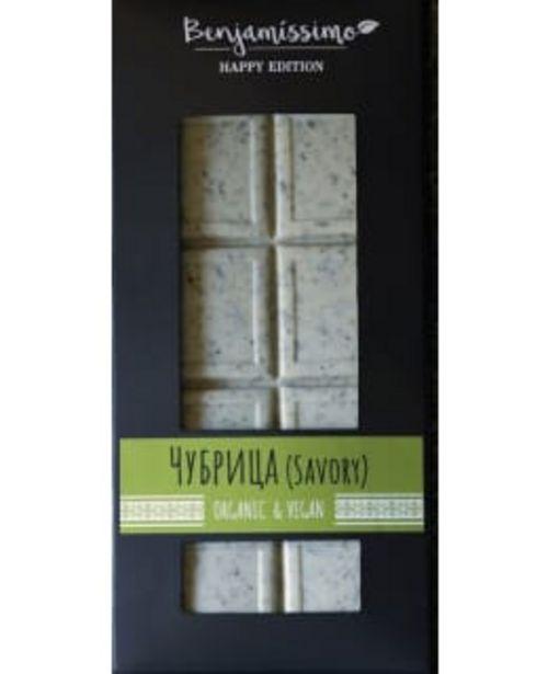Benjamissimo Happy Edition Savory 60 G Luomu Suklaa -tarjous hintaan 3,8€