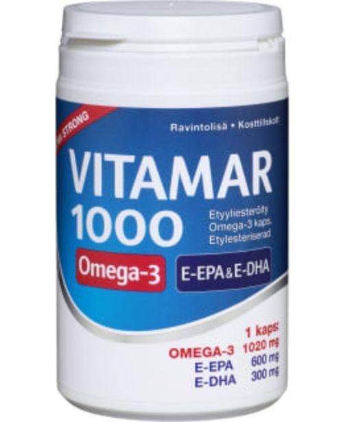 Vitamar 1000 100 Kaps. Ravintolisä -tarjous hintaan 16,9€