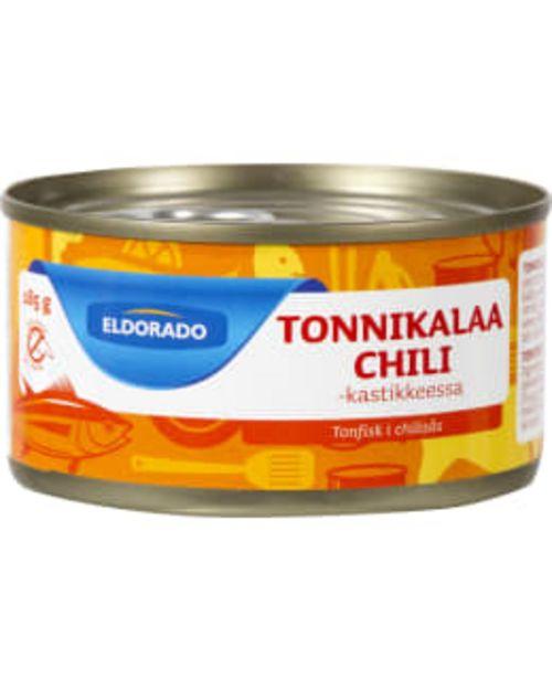 Eldorado Tonnikalaa Chilikastikkeessa 185g -tarjous hintaan 2,19€