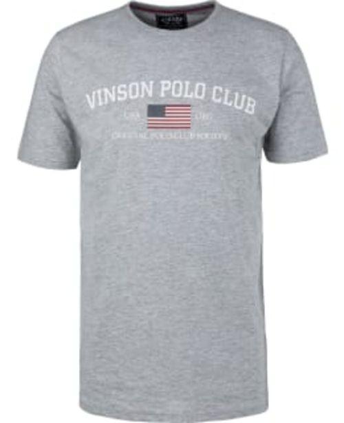 Vinson Polo Club Henley Miesten T-paita -tarjous hintaan 14,9€