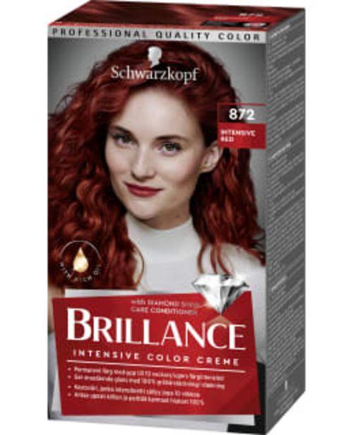 Schwarzkopf Brillance 872 Intensive Red Hiusväri -tarjous hintaan 9,75€